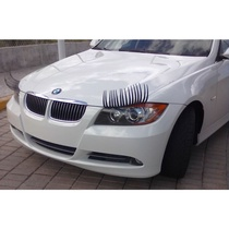 affordable and cute car eyelashes  sticker