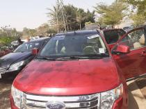 2008 Ford Edge Red Automatic Foreign Used