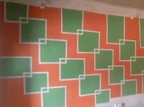 Room design painting