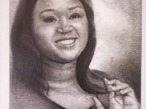 Portraiture: Charcoal drawings