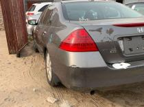 2007 Honda Accord Gray Automatic Foreign Used