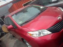 2011 Toyota Sienna Red Automatic Foreign Used