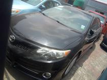 2012 Toyota Camry Black Automatic Foreign Used