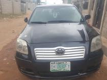 2005 Toyota Avensis Black Automatic Nigerian Used
