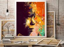 WALL ART OIL PAINTING ON CANVAS