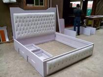 well made luxury standard bed frame
