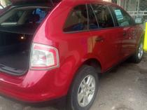 2009 Ford Edge Red Automatic Foreign Used