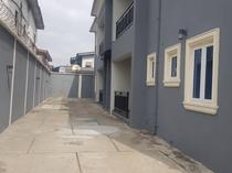 Clean block of 4 Units of 3 Bedroom Flats in Ilupeju for rent