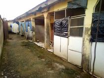 Fenced 5 Units of 1bedroom flat and 4 Shops for Sale