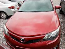 2014 Toyota Camry Red Automatic Foreign Used