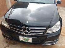 2012 Mercedes-Benz C300 Black Automatic Foreign Used