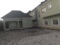 a standard 5bedroom semi-detached duplex with one bedrooms for rent