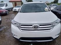 2013 Toyota Highlander White Automatic Foreign Used
