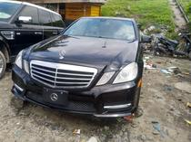 2012 Mercedes-Benz E350 Black Automatic Foreign Used