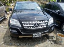 2010 Mercedes-Benz M Class  Automatic Foreign Used