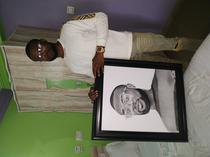 Portrait drawing and painting artist in Asaba
