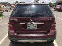 2009 Mercedes-Benz M Class Red Automatic Foreign Used