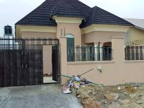 3 bedroom bungalow with boys quarter for sale in Ajah