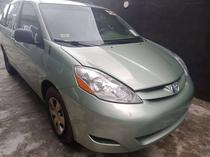 2006 Toyota Sienna Beige Automatic Foreign Used