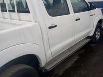 2008 Toyota Hilux White Manual Nigerian Used