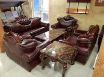 Exquisite Royal leather sofa 7seaters