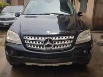 2009 Mercedes-Benz ML 350 Black Automatic Foreign Used