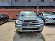 2005 Toyota 4-Runner Blue Automatic Foreign Used