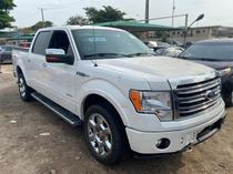 2014 Ford F-150 White Automatic Foreign Used