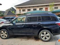 2008 Toyota Highlander Black Automatic Foreign Used