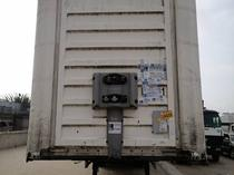 Flatbed 40 Feet Tapolin Container with 3 axles