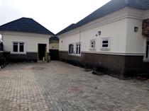 4bedroom fully detached bungalow with bq at efab queens estate karsana