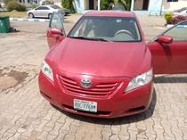 2008 Toyota Camry Red Automatic Nigerian Used