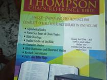 Thompson chain reference bible index compact size