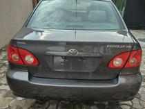 2005 Toyota Corolla Gray Automatic Foreign Used