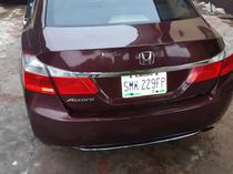 2013 Honda Accord  Automatic Nigerian Used
