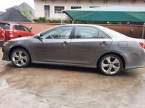2014 Toyota Camry Gray Automatic Foreign Used