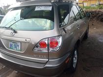 2001 Lexus RX Black Automatic Nigerian Used