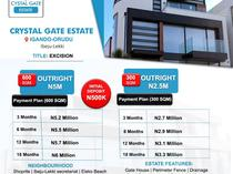 Land for sale at Crystal Gate Estate  Ibeju Lekki