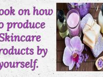 Ebook on how to produce skincare products by your self
