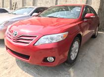 2010 Toyota Camry Red Automatic Foreign Used