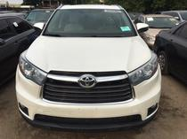 2015 Toyota Highlander White Automatic Foreign Used