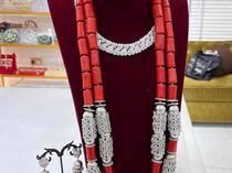 Coral Wedding Necklace