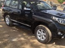 2014 Toyota Land Cruiser Prado Black Automatic Nigerian Used