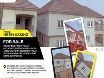 Newly built soft 🍒fully detached 5bedrooms duplex for sale