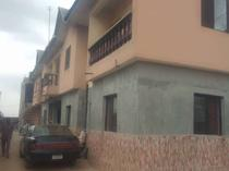 Newly built mini flat 200k and Room self contain 150k yearly with pop