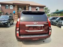 2012 Lexus GX Red Automatic Foreign Used