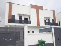 4 bedroom furnished duplex+a room bq for rent in ikota villa Lekki