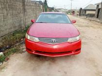 2002 Toyota Solara Red Automatic Foreign Used