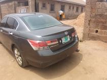2008 Honda Accord Gray Automatic Nigerian Used