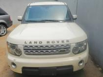 2010 Land Rover Range Rover  White Automatic Nigerian Used